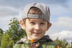 Retrato do miúdo feliz Fotografia de Stock Royalty Free