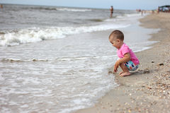 Retrato do miúdo feliz Imagens de Stock Royalty Free