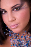 Retrato do modelo bonito Imagens de Stock Royalty Free