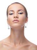Retrato do modelo bonito Imagem de Stock Royalty Free