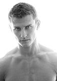 Retrato do modelo masculino novo fotos de stock
