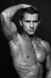 Retrato do modelo masculino novo foto de stock