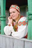 Retrato do mulheres novas bonitas. Imagens de Stock