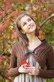 Retrato do outono Imagens de Stock Royalty Free