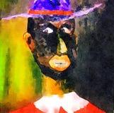 Retrato do pai Clarence Fotos de Stock Royalty Free