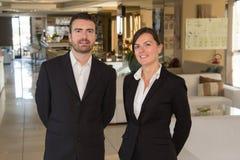 Retrato do pessoal do restaurante imagem de stock royalty free