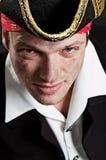 Retrato do pirata novo Imagens de Stock