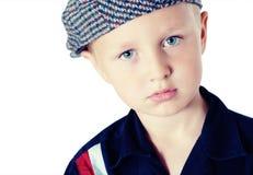 Retrato do rapaz pequeno Fotos de Stock