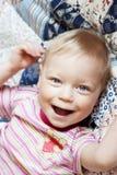 Retrato do rapaz pequeno feliz Foto de Stock