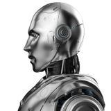 Retrato do rob? do Humanoid ilustração royalty free