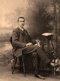Retrato do russo do vintage Imagens de Stock
