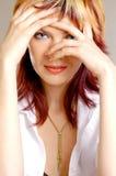 Retrato do `s da mulher Imagem de Stock Royalty Free