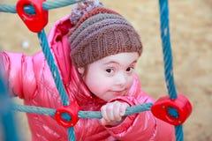 Retrato do sorriso da menina Fotografia de Stock