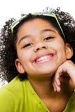 Retrato do sorriso da menina Imagens de Stock