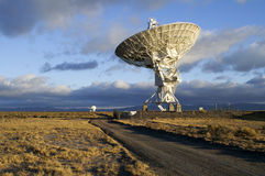 Retrato do telescópio de rádio imagem de stock royalty free
