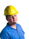 Retrato do trabalhador da construção Fotos de Stock Royalty Free