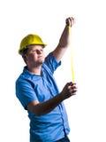 Retrato do trabalhador da construção Imagem de Stock Royalty Free