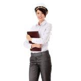 Retrato do trabalhador fêmea confiável Imagem de Stock Royalty Free