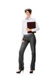 Retrato do trabalhador fêmea confiável Fotografia de Stock Royalty Free