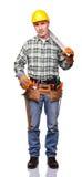 Retrato do trabalhador manual Imagem de Stock Royalty Free