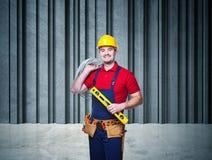 Retrato do trabalhador manual Foto de Stock
