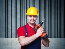 Retrato do trabalhador manual Fotografia de Stock Royalty Free