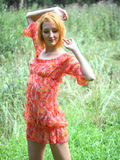 Retrato do verão Foto de Stock Royalty Free