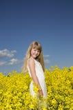Retrato do verão da rapariga Fotos de Stock Royalty Free