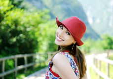 Retrato do verão Imagens de Stock