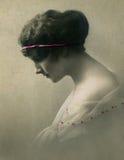 Retrato do vintage. imagem de stock