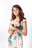 Retrato do woma bonito novo Imagens de Stock Royalty Free