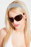 Retrato dos óculos de sol Fotografia de Stock
