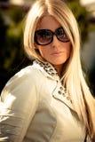 Retrato dos óculos de sol fotos de stock royalty free