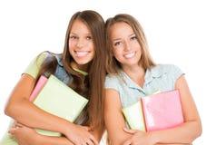 Retrato dos estudantes Fotos de Stock Royalty Free