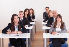 Retrato dos executivos fotos de stock