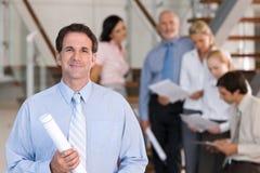 Retrato dos executivos empresariais Fotografia de Stock Royalty Free