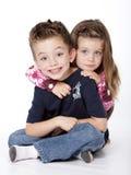 Retrato dos irmãos Imagem de Stock Royalty Free