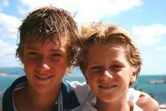Retrato dos meninos Imagem de Stock Royalty Free
