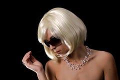 Retrato dos paparazzi Fotos de Stock Royalty Free