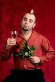 Retrato dos Valentim Fotos de Stock Royalty Free