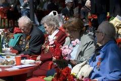 Retrato dos veteranos de guerra Imagens de Stock