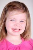 Retrato dulce de la muchacha del niño Fotos de archivo