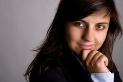 Retrato ejecutivo de la empresaria Foto de archivo libre de regalías