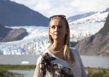 Retrato em Alaska Fotografia de Stock