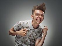 Retrato emocional de um adolescente Imagem de Stock Royalty Free