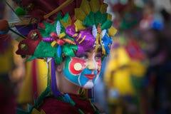 Retrato en carnaval fotografía de archivo