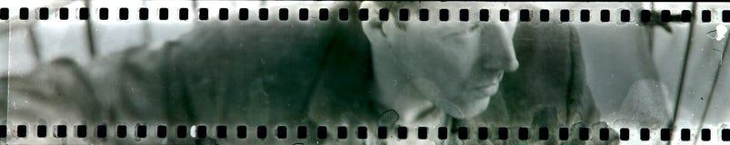 Retrato en la película análoga Foto de archivo