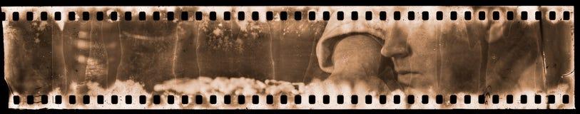 Retrato en la película análoga Fotografía de archivo