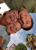 Retrato engraçado de feliz Foto de Stock Royalty Free