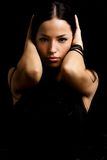 Retrato escuro Foto de Stock Royalty Free